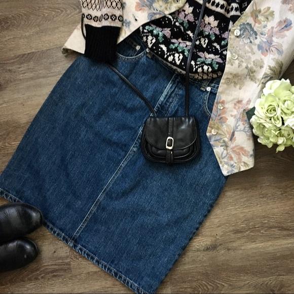 Awesome Vintage Ralph Lauren Denim Skirt!